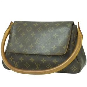 Authentic Louis Vuitton  Bag monogram leather